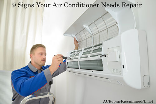 9 Signs Your Air Conditioner Needs Repair